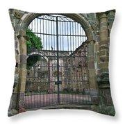 Iglesia De La Compania De Jesus Throw Pillow