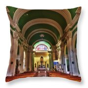 Iglesia De La Merced Throw Pillow