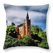 Iglesia Del Calvario Throw Pillow