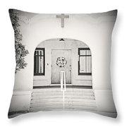 Iglesia Encantada Throw Pillow