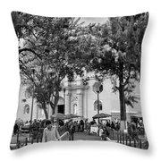 Iglesia La Merced - Antigua Guatemala Bnw Ix Throw Pillow