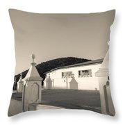 Iglesia San Andres Apostol - Apaneca 17 Throw Pillow
