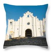 Iglesia San Andres Apostol - Apaneca 2 Throw Pillow