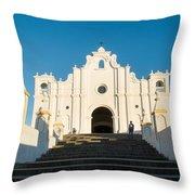 Iglesia San Andres Apostol - Apaneca 4 Throw Pillow