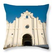 Iglesia San Andres Apostol - Apaneca 5 Throw Pillow