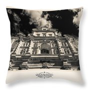 Iglesia San Francisco - Antigua Guatemala IIi Throw Pillow