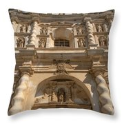 Iglesia San Francisco - Antigua Guatemala Vii Throw Pillow