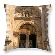 Iglesia San Francisco - Antigua Guatemala Viii Throw Pillow