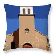 Iglesia San Jose 1922 Throw Pillow