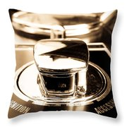 Ignition Lock Accessories Throw Pillow