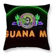 Iguana Mia Throw Pillow