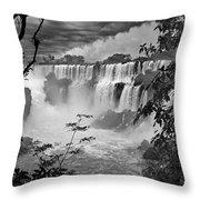 Iguazu Falls Vi Throw Pillow