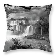 Iguazu Falls Vii Throw Pillow