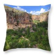 Ihlara Valley - Turkey Throw Pillow