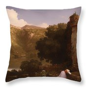 II Penseroso Throw Pillow