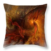 Ikarus Throw Pillow