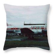 Il-14 Throw Pillow