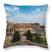 il Colosseo Throw Pillow