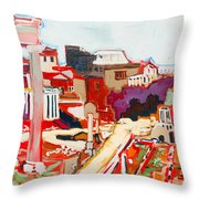 Il Foro Romano Throw Pillow