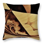 Il Guardiano Del Faro Throw Pillow