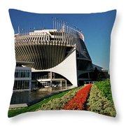Ile-de-notre-dame - Montreal Throw Pillow