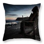 Freddie Gilfroy - Scarborough North Bay Throw Pillow