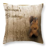 I'll Be Home For Christmas Throw Pillow