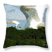 On My Way Throw Pillow