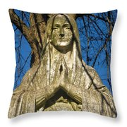 I'll Just Blend In - Hail Mary  Throw Pillow