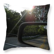 I'll See You At The Crossroads  Throw Pillow