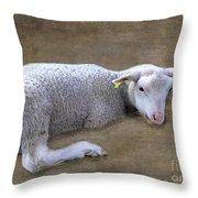 I'll Soon Be Counting Sleeps Throw Pillow