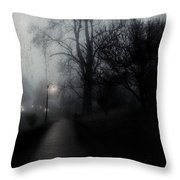 I'll Walk With You Tonite Throw Pillow