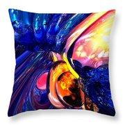 Illuminate Abstract  Throw Pillow