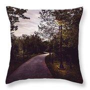 Illuminated Foot Path Throw Pillow