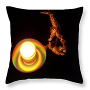 Illuminated Objects Throw Pillow