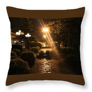 Illuminated Retreat Throw Pillow