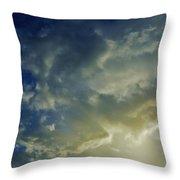 Illuminated Sky Throw Pillow