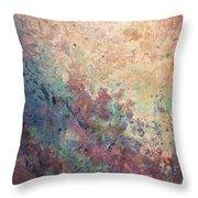Illuminated Valley I Diptych Throw Pillow
