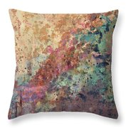 Illuminated Valley II Diptych Throw Pillow
