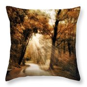 Illumination Throw Pillow by Jessica Jenney
