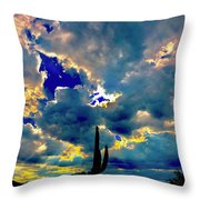 Illunination Throw Pillow