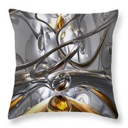 Illusions Abstract Throw Pillow