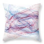 Illusions In Flights Of Mind Throw Pillow