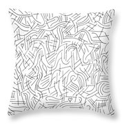 Illusory Throw Pillow