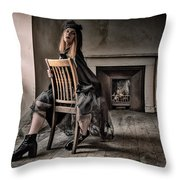 Ilona's Attic Throw Pillow
