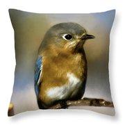 I'm A Bluebird Throw Pillow
