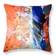 I'm A Searchlight Soul They Say Throw Pillow