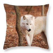 I'm A Wolf Throw Pillow