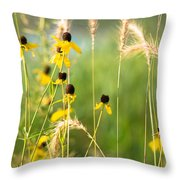 I'm Here Waiting  Throw Pillow