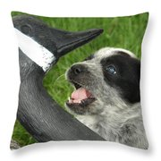 I'm In Charge Throw Pillow